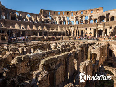 Ancient Rome Colosseum Underground with Arena Floor Access & Roman Forum Tour