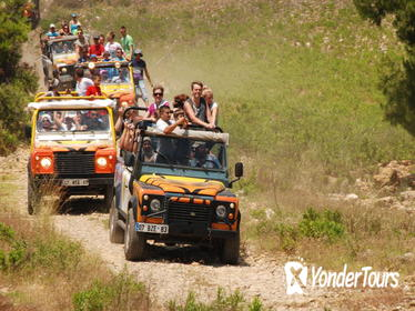 Antalya 4x4 and White Water Rafting Adventure with Lunch