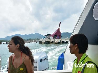 Ao Nang to Phuket by Green Planet Speed Boat via Koh Yao Islands