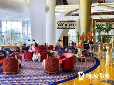 Arabesque Afternoon Tea at Sahn Eddar Lobby Lounge in Burj Al Arab with Private Transfers