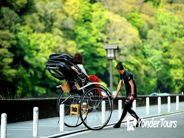 Arashiyama Rickshaw Tour and Japanese Foot Spa Combo in Kyoto