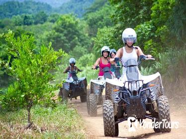 ATV 4x4 Safari Eco-Adventures to Taino Ecological Park and Macao Beach