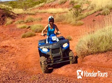 Aussie Outback Air and Land Tour Including Quad Bike Ride