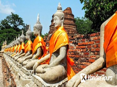 Ayutthaya Ancient Capital Tour from Bangkok including River Cruise & Lunch