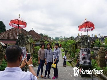 BALI PRIVATE TOUR TRADITIONAL VILLAGE AND WATERFALL THEN BEAUTIFUL VIRGIN BEACH
