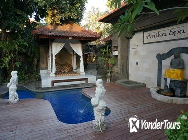 Balinese Style Spa Experience before Flight Departure with Transfer