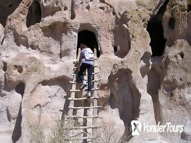 Bandelier National Monument from Santa Fe