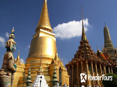 Bangkok Grand Palace, Wat Pho, and Klongs Cruise Private 6-Hour Tour