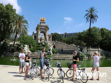 Barcelona City Morning Tour on Electric Bike