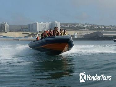 Barcelona High-Speed RIB Boat Cruise
