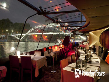 Bateaux Parisiens New Year's Eve Seine River Cruise with 6-Course Gourmet Dinner and Live Music