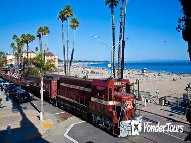 Beach Train from Roaring Camp through Redwoods to Santa Cruz