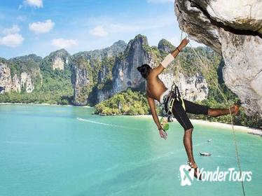 Beginner's Half-Day Rock Climbing Tours at Railay Beach in Krabi