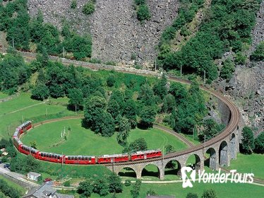 Bernina Express Scenic Train Journey from Chur
