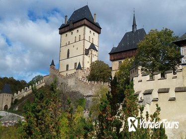 Bike tour to Karlstejn Castle from Prague