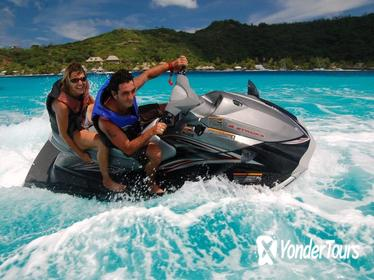 Bora Bora Jet Ski Tour, Lunch at Bloody Mary's, and Shark and Stingray Snorkel Cruise