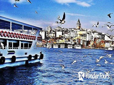 Bosphorus Cruise Asian Side&Dolmabahce palace included lunch