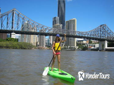 Brisbane River Stand-Up Paddleboarding