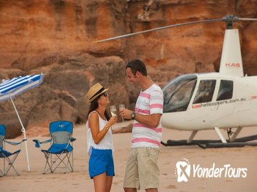 Broome Helicopter Flight with a Difference: Including Remote Picnic on Cable Beach