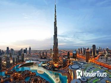 Burj Khalifa: At the Top (125th floor) & Lunch or Dinner at Roof Top Combo