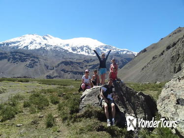 Cajon del Maipo 8km Hiking Day Tour in the Andes from Santiago