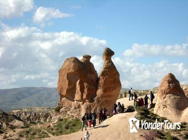 Cappadocia Private Full Day Tour: Kaymakli Undergroung City and Goreme Open Air Museum From Kayseri Airport