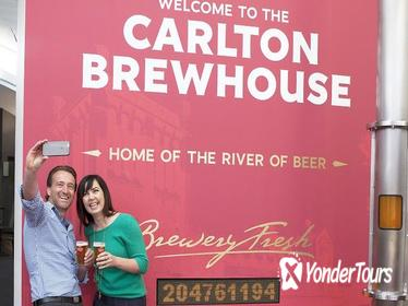 Carlton Brewhouse Brewery Tour with Beer Tasting