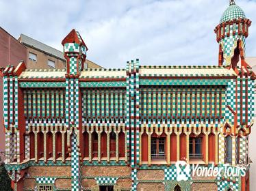Casa Vicens ( Gaudi's first house) Direct Entry