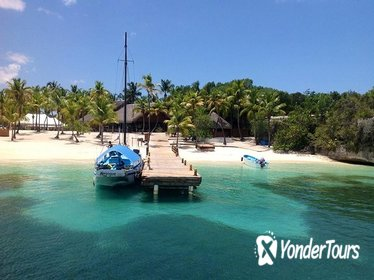 Catalina Island and Chavon River Catamaran Cruise from Punta Cana