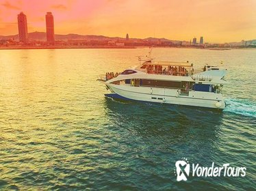 Champagne Sunset Boat Party in Barcelona