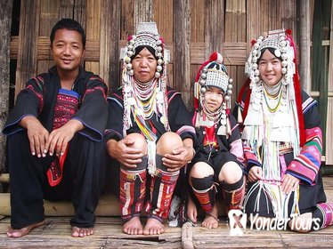 Chiang Rai Day Trip from Chiang Mai - White Temple, Golden Triangle & Hill Tribe