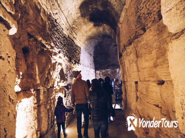 Colosseum Special Areas: Self-Guided Underground & Guided Panoramic Top Tiers