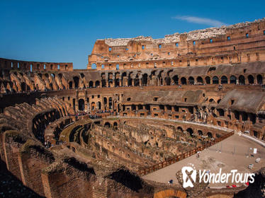 Colosseum with Gladiator entrance private tour with Ancient Rome