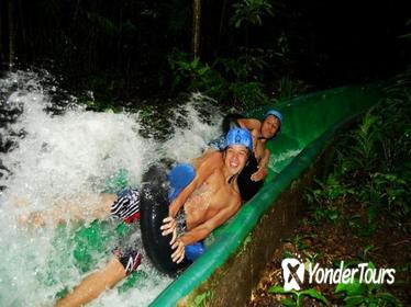 Combo Tour: Canopy, Water Slide, Hot Spring and Horseback Ride at Rincon de la Vieja Volcano