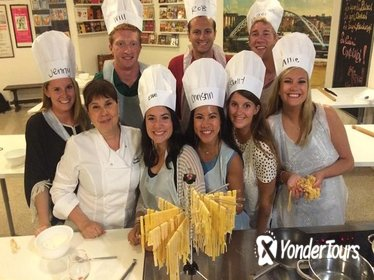 Cooking Class and Wine Tasting Full Day from Rome