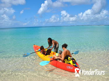 Creole Rock Canoe or Kayak Snorkeling Excursion from Grand Case