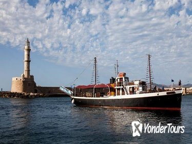 Crete Coastline Sightseeing Cruise Including Marathi Beach