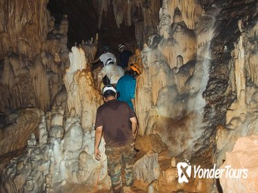 Crystal Cave and Blue Hole National Park Day Trip from San Ignacio