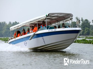 Cu Chi Tunnels by Luxury Speed Boat half day