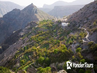 Day Trip to Green Mountain and Jebel Al Akhdar from Muscat