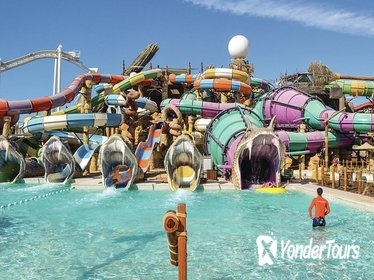 Day Trip to Yas Waterworld Abu Dhabi with Transfers from Dubai