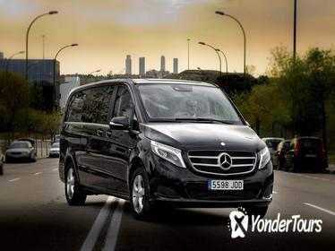 Departure Private Transfer Segovia to Madrid Airport MAD in Luxury Van