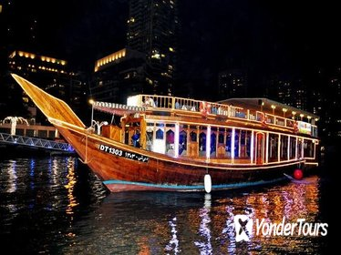 Dhow cruise on Creek Dubai