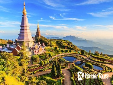 Doi Inthanon Day Trip from Chiang Mai including Long Neck Tribe & Twin Pagodas