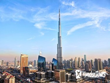 Dubai City Tour with Burj Khalifa at the Top: 124th floor