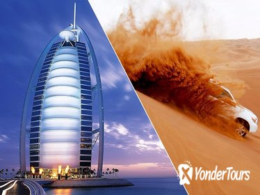 DUBAI DESERT SAFARI WITH BBQ DINNER & DUBAI CITY TOUR