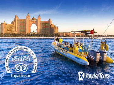 Dubai RIB Boat Cruise: Palm Jumeirah and Dubai Marina