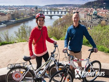 E-Bike Panoramic City Tour of Prague with Prague Castle