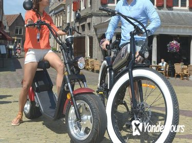 E-chopper or E-bike rent tour - Volendam & Edam - One-day Bus from Amsterdam