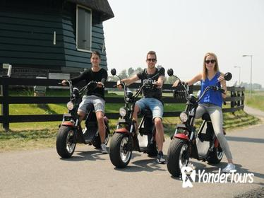 E-chopper rental Volendam - Countryside of Amsterdam